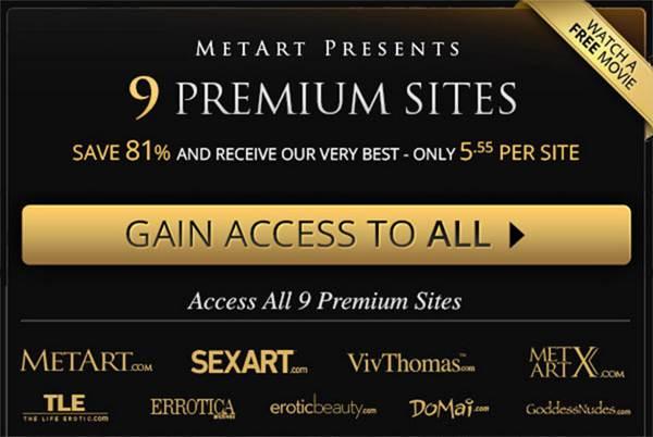 Metart.com network discount $5.55 per month