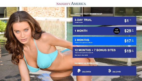 Naughtyamerica Discount